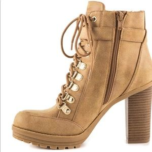 Guess combat style booties